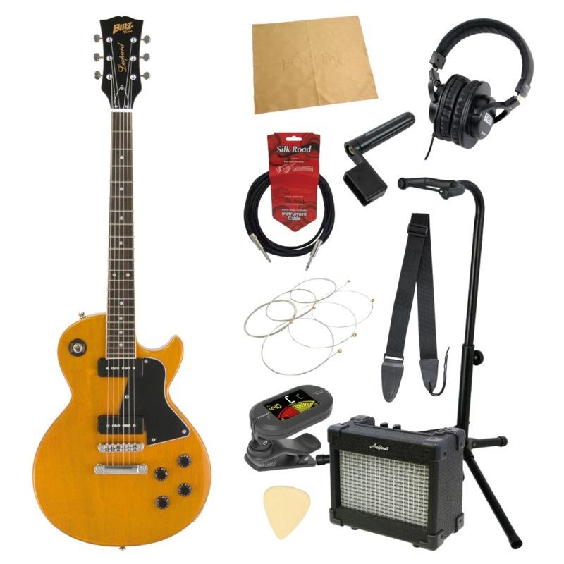エレキギター入門11点セット BLITZ by ARIA BLP-SPL YL