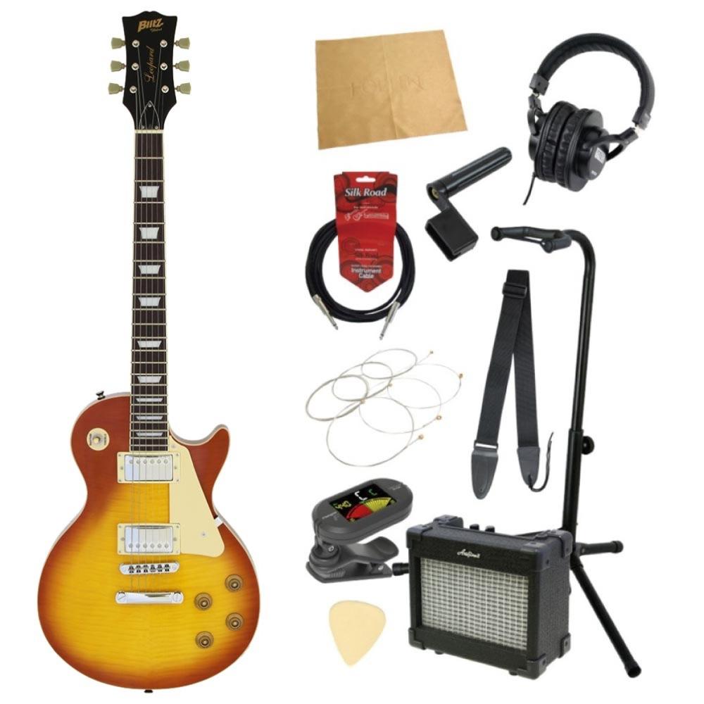 エレキギター入門11点セット BLITZ by ARIA BLP-450 HB
