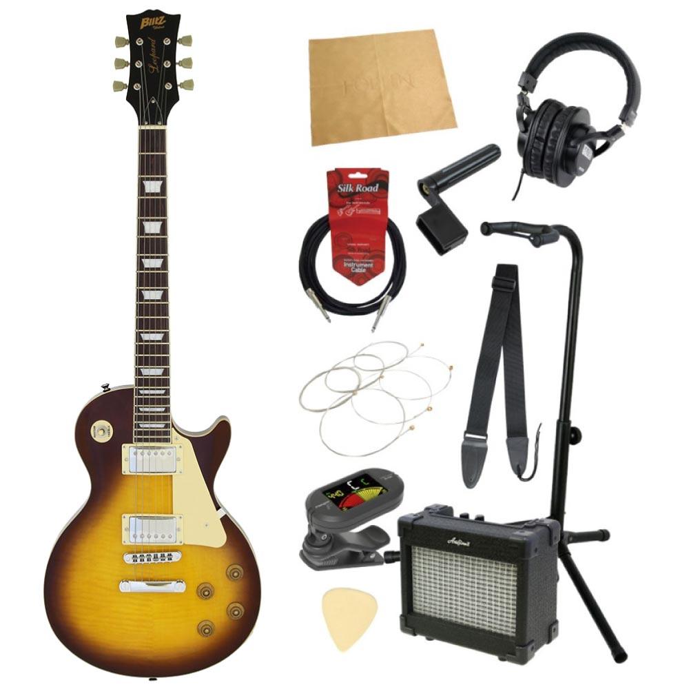 エレキギター入門11点セット BLITZ by ARIA BLP-450 VS