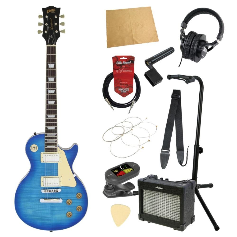 エレキギター入門11点セット BLITZ by ARIA BLP-450 SBL