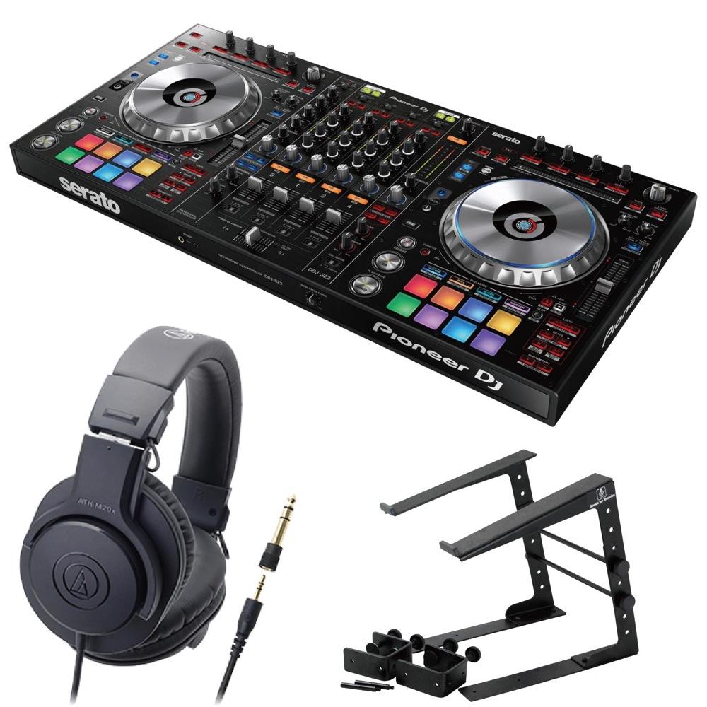 Pioneer DDJ-SZ2 DJコントローラー LPS-002 ラップトップスタンド AUDIO-TECHNICA ATH-M20x ヘッドフォン 3点セット