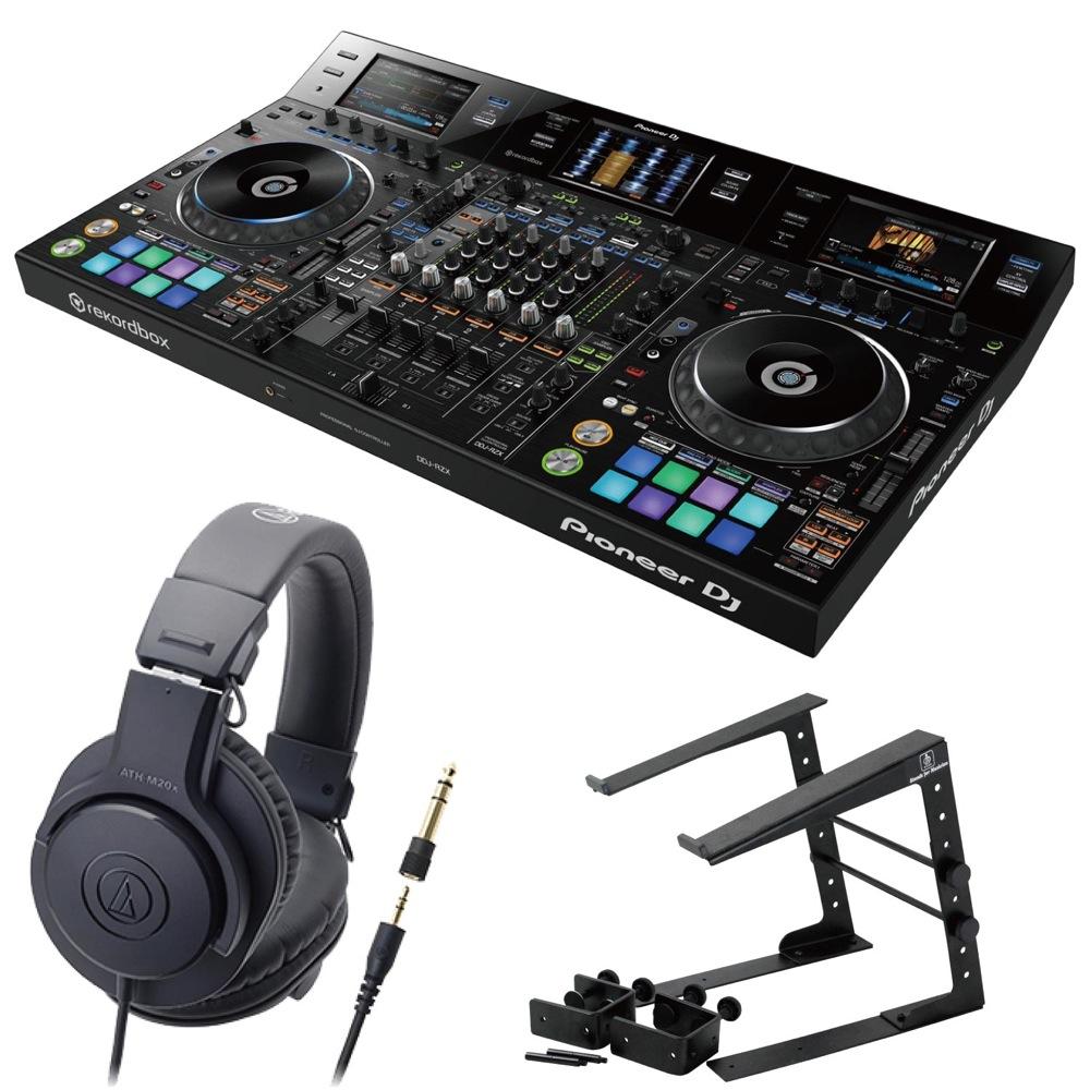 Pioneer DDJ-RZX DJコントローラー LPS-002 ラップトップスタンド AUDIO-TECHNICA ATH-M20x ヘッドフォン 3点セット