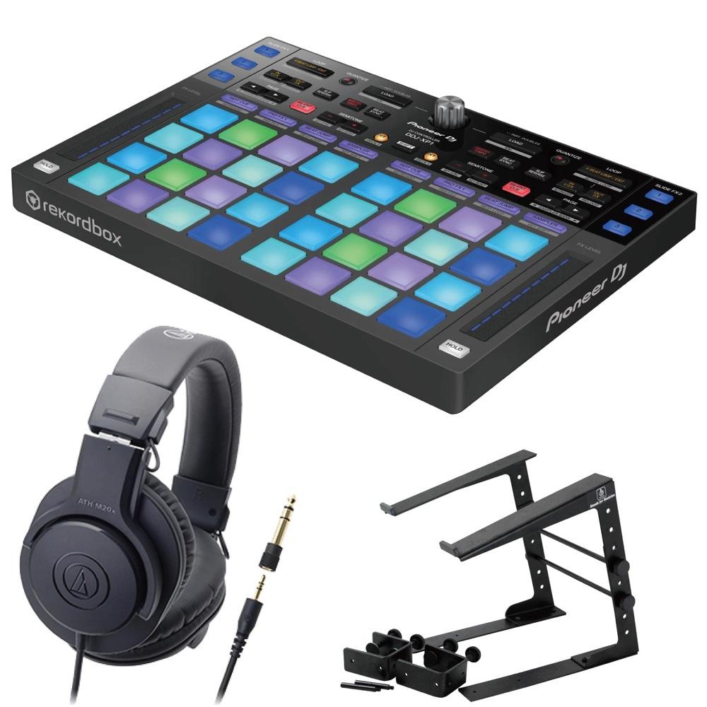 Pioneer DDJ-XP1 DJコントローラー LPS-002 ラップトップスタンド AUDIO-TECHNICA ATH-M20x ヘッドフォン 3点セット