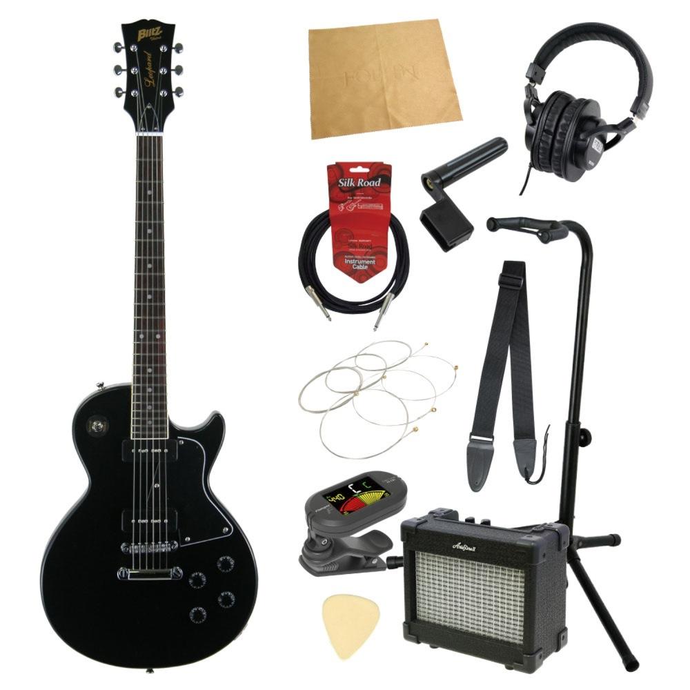 エレキギター入門11点セット BLITZ by ARIA BLP-SPL BK