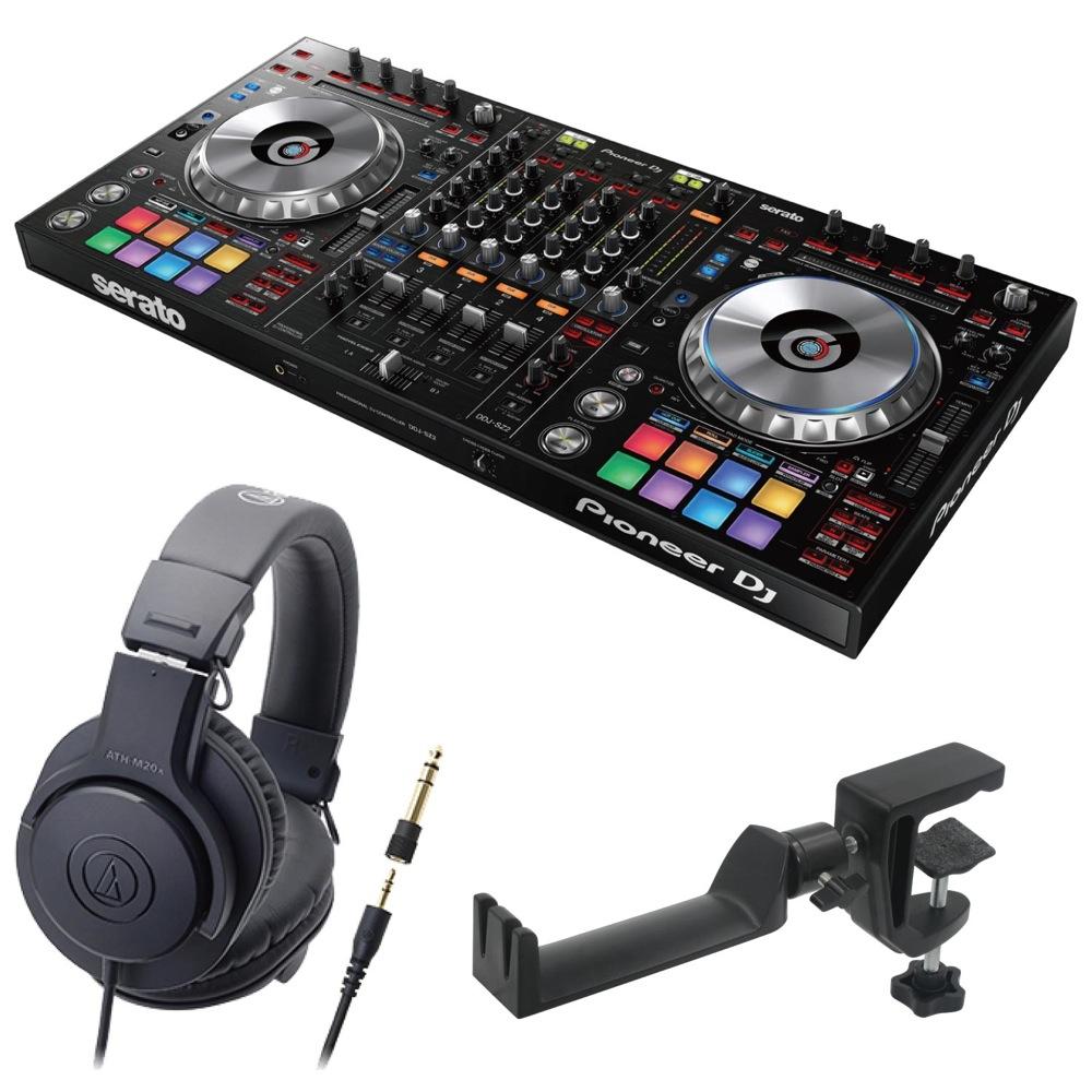Pioneer DDJ-SZ2 DJコントローラー AUDIO-TECHNICA ATH-M20x ヘッドフォン SEELETON ヘッドホンハンガー 3点セット