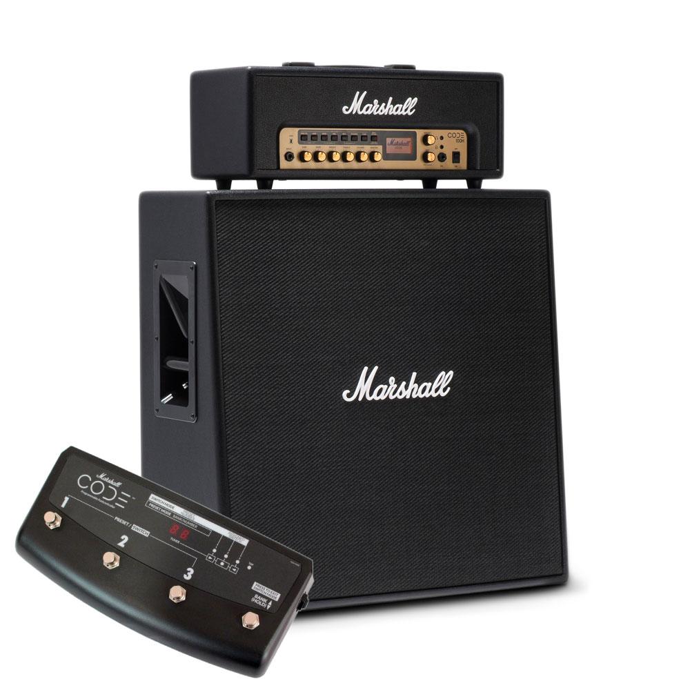 MARSHALL CODE100H & CODE412 スタックセット プログラマブルフットコントローラー付き