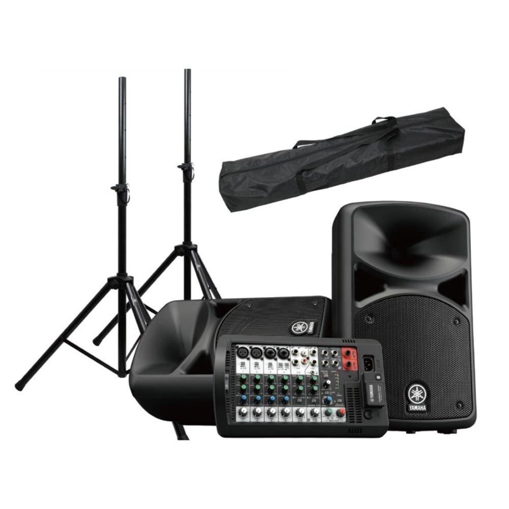YAMAHA STAGEPAS 400BT Dicon Audio SS-062 スピーカースタンド(ペア)付き PAセット [Aset]
