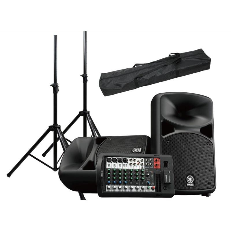 YAMAHA STAGEPAS 600BT Dicon Audio SS-062 スピーカースタンド(ペア)付き PAセット [Aset]