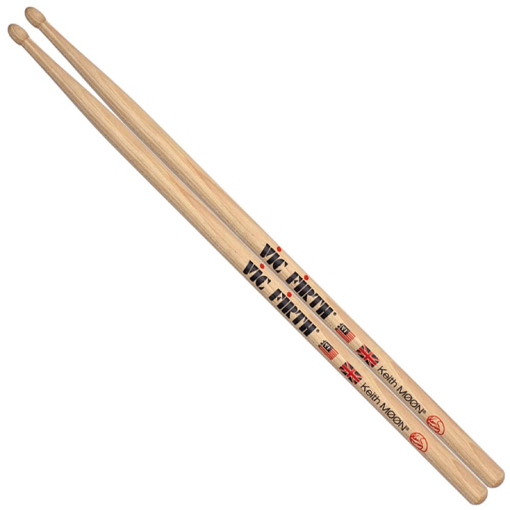 VIC FIRTH VIC-SKM Keith Moon ドラムスティック×12セット