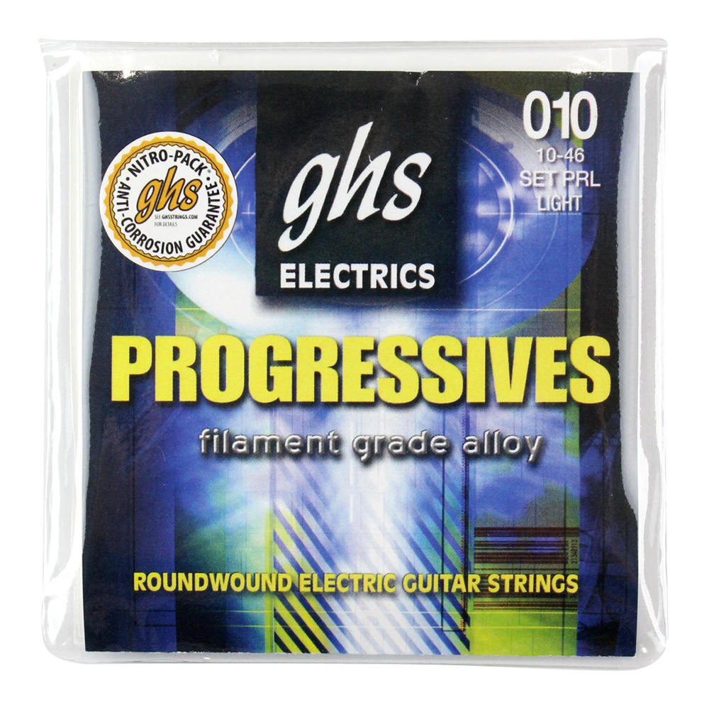 GHS PRL 10-46 Progressives Series エレキギター弦×12セット