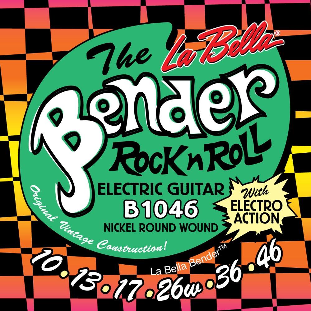 La Bella The Bender B1046 REGULAR 10-46 エレキギター弦 ×12セット