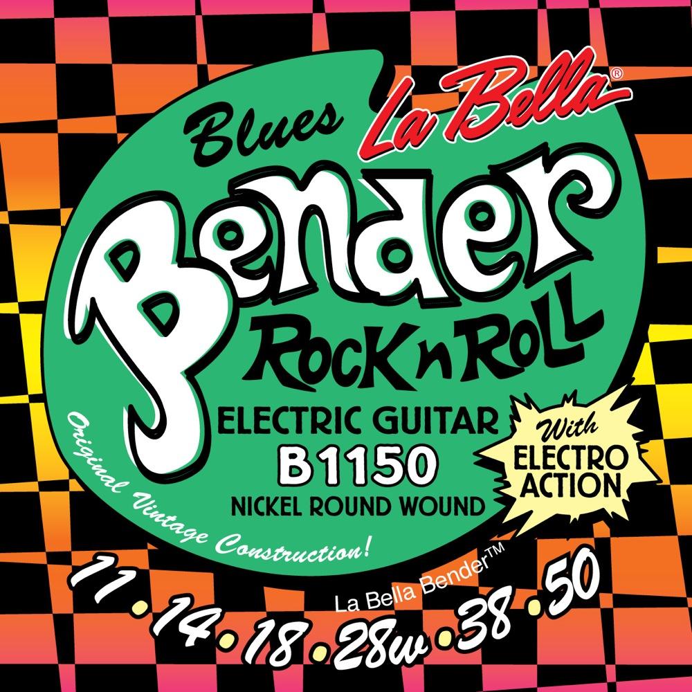 La Bella The Bender B1150 BLUES 11-50 エレキギター弦 ×6セット