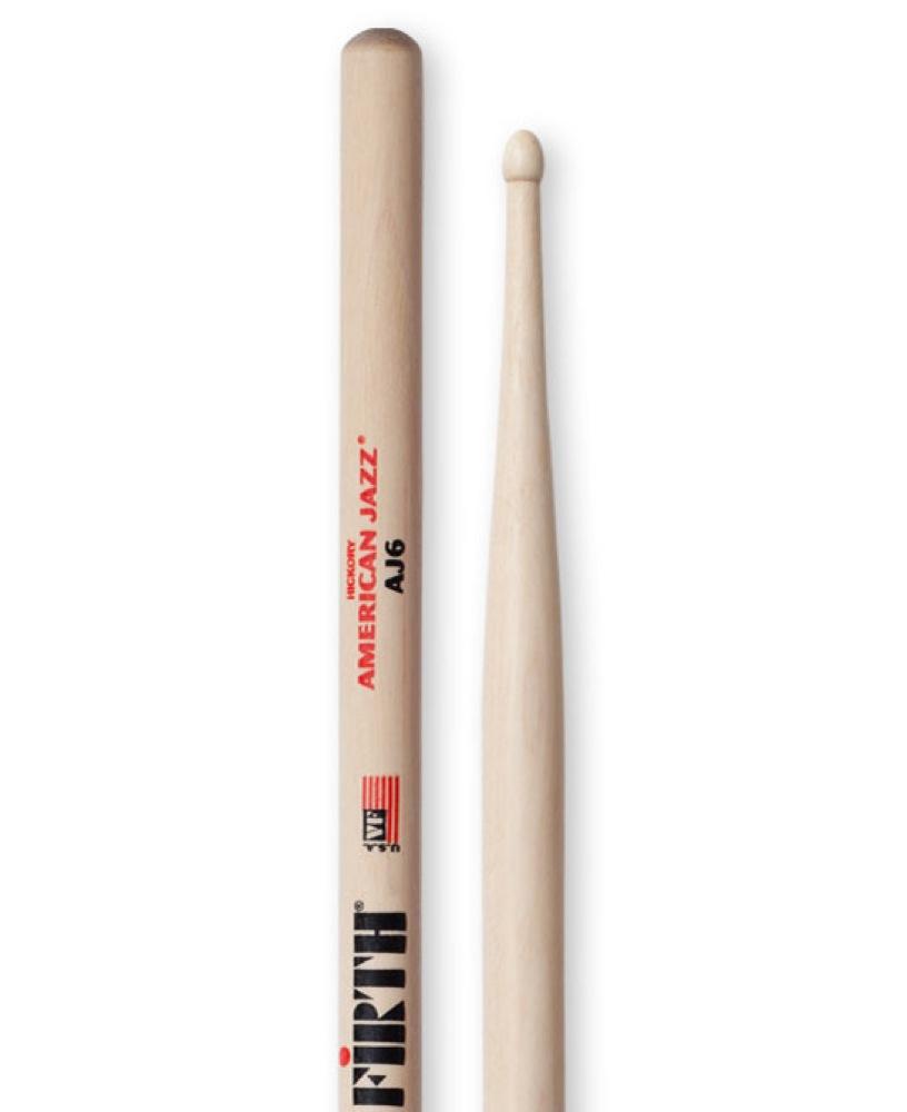 VIC FIRTH VIC-AJ6 ドラムスティック×12セット