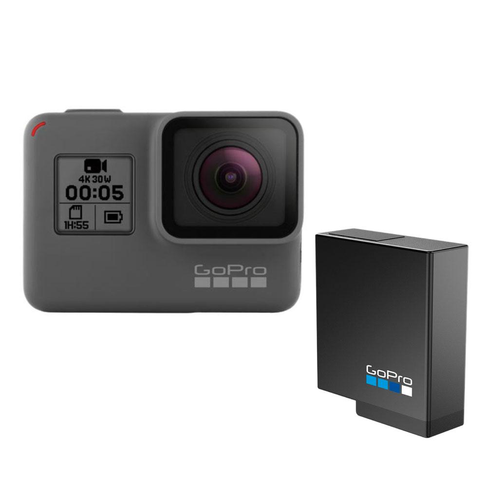 GoPro HERO5 Black ウェアラブルカメラ 予備バッテリー付き セット