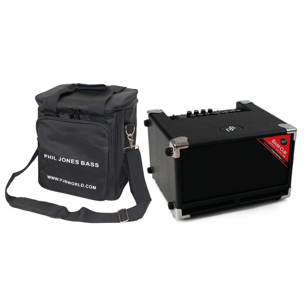 PHIL JONES BASS BASS CUB ベースアンプ 専用キャリングバッグ付き 2点セット