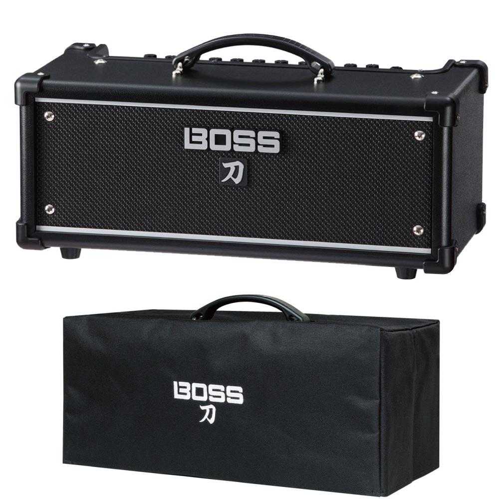 BOSS KTN-HEAD KATANA-HEAD Guitar Amplifier ギターアンプヘッド 純正アンプカバー付き 2点セット