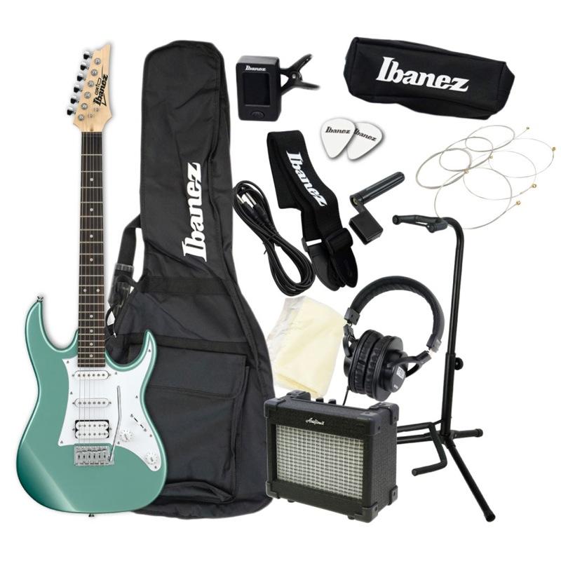 エレキギター 入門セット IBANEZ GRX40 MGN アクセサリーセット付き