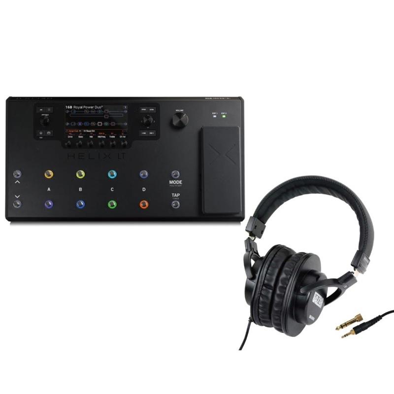 LINE6 Helix LT マルチエフェクター/ギタープロセッサー SD GAZER SDG-H5000 モニターヘッドホン 付きセット
