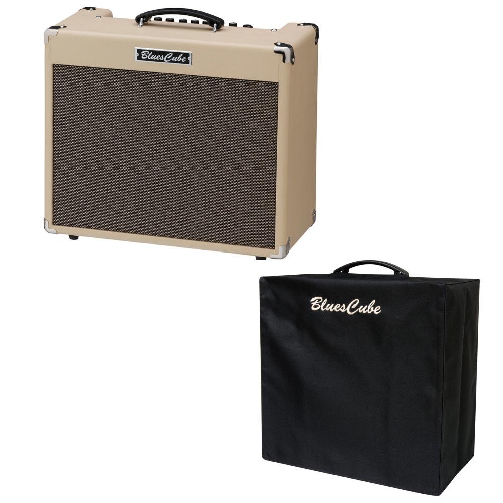 ROLAND BLUES CUBE BC-STAGE ギターアンプ 純正アンプカバー付き 2点セット