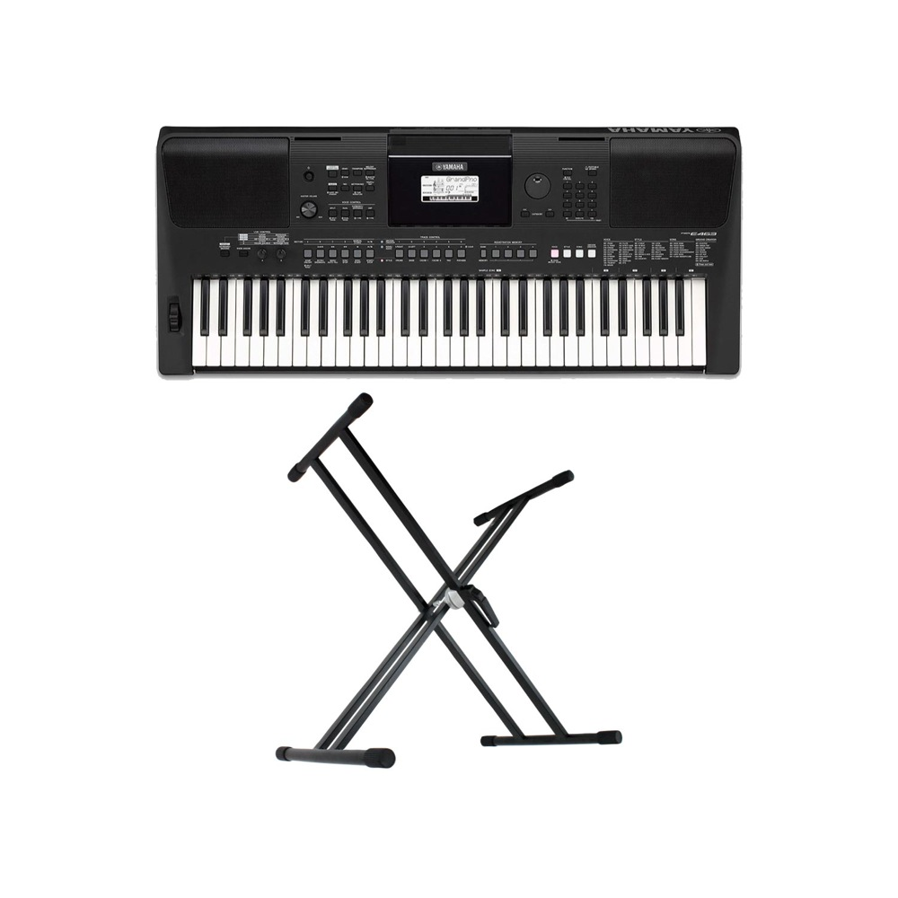 YAMAHA PSR-E463 PORTATONE [鍵盤 61鍵盤 電子キーボード キーボードスタンド 2点セット PORTATONE 電子キーボード [鍵盤 Aset], マイコレクション:8ec9dfda --- sunward.msk.ru