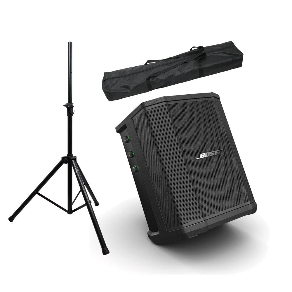 Bose S1 Pro 3ch簡易PA Dicon Audio SS-062 スピーカースタンド(ペア)付き PAセット [Aset]