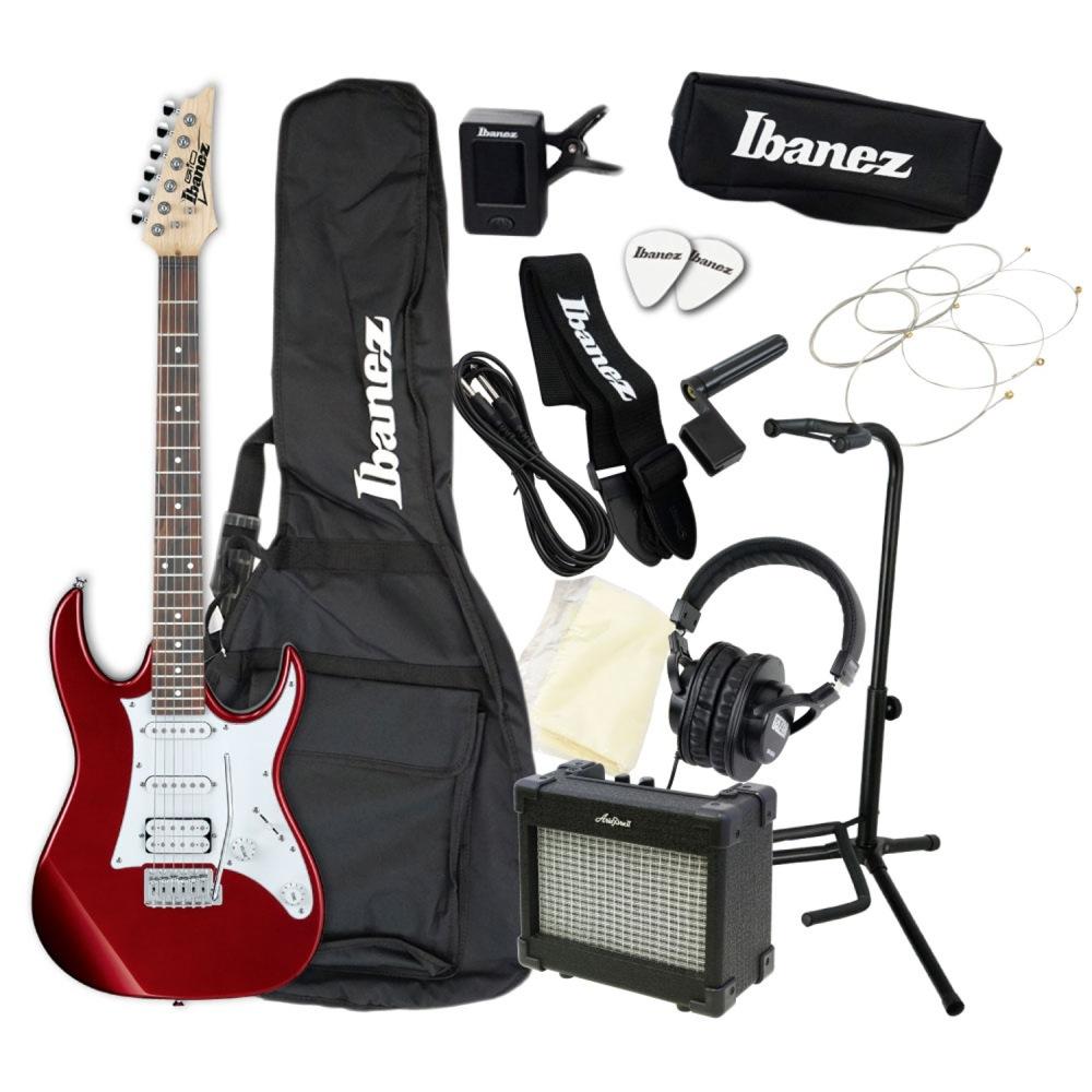 エレキギター 入門セット IBANEZ GRX40 CA アクセサリーセット付き