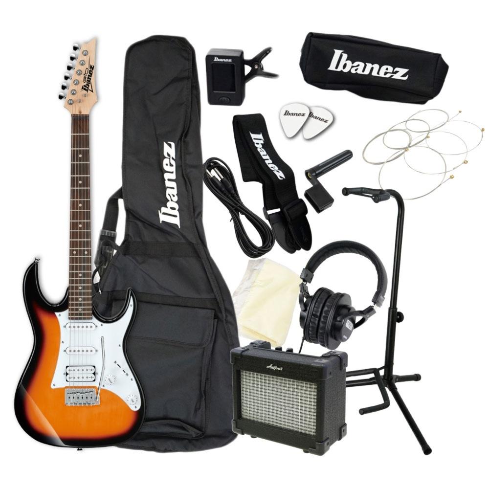 エレキギター 入門セット IBANEZ GRX40 TFB アクセサリーセット付き