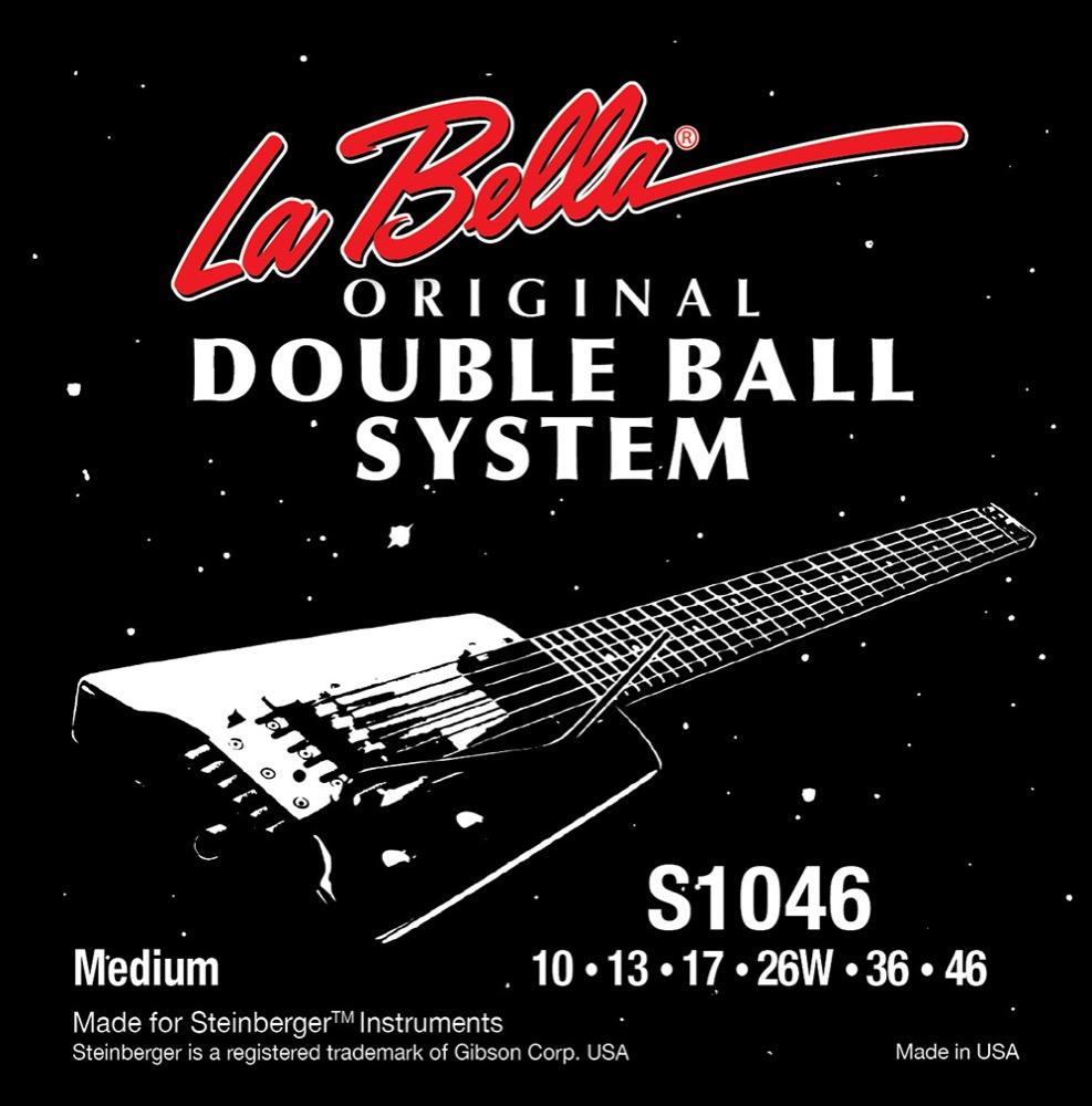 La Bella S1046 Regular Doble Ball System 10-46 エレキギター弦×12セット