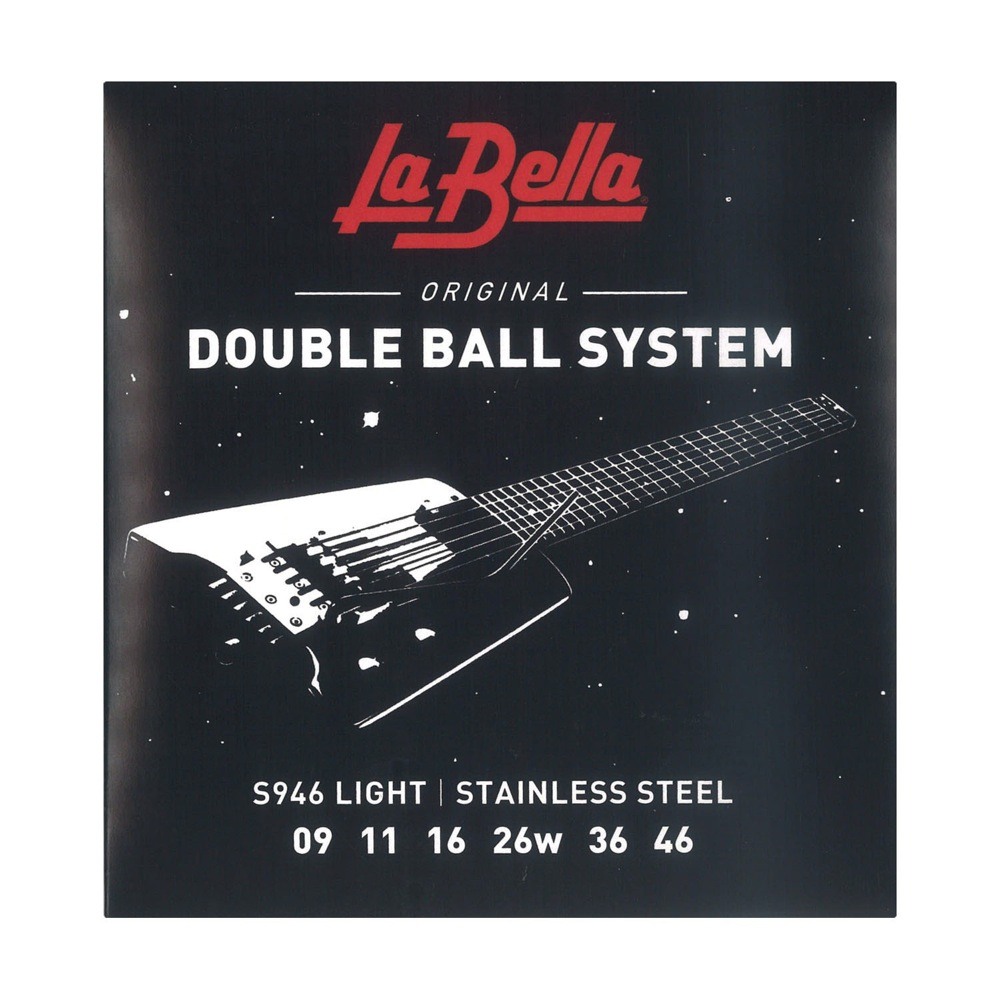 La Bella S946 Light Doble Ball System 09-46 エレキギター弦×3セット