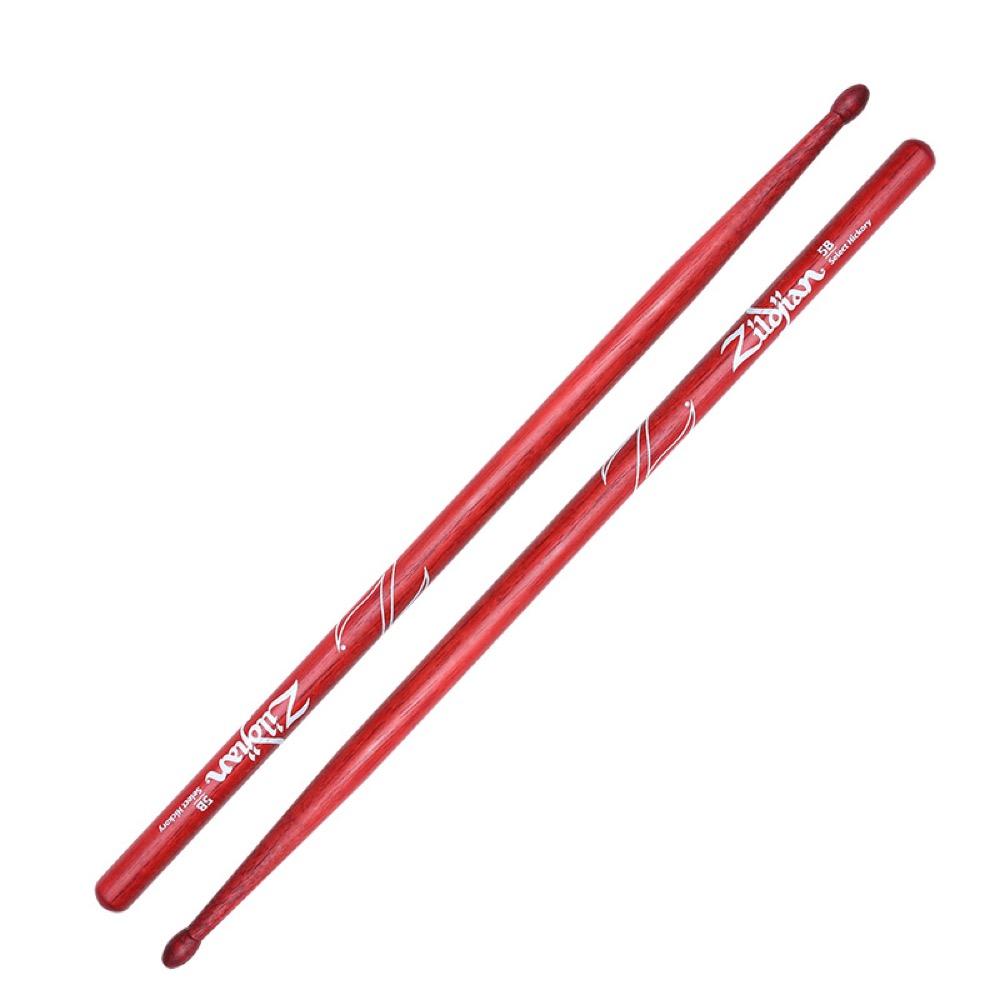 ZILDJIAN LAZLZ5AR Hickory Series 5A WOOD RED DRUMSTICK ドラムスティック×6セット