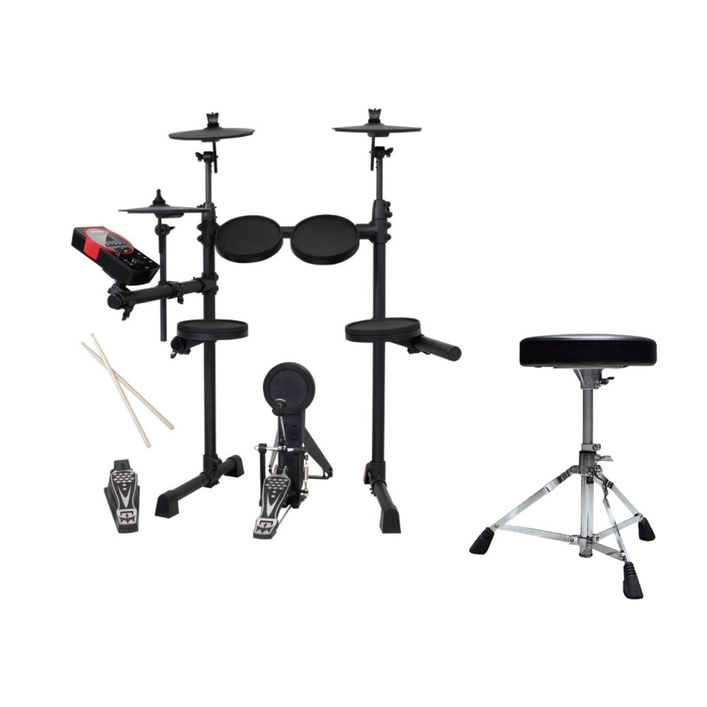 MEDELI DD610J DIY KIT 電子ドラムセット & YAMAHA DS550U ドラム椅子付きセット