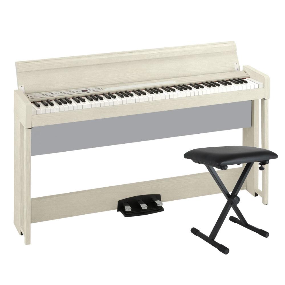 KORG C1 AIR WA 電子ピアノ Dicon Audio SB-001 キーボードベンチセット