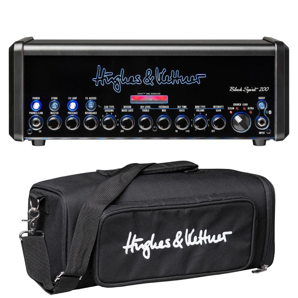 Hughes&Kettner HUK-BS200/H Black Spirit 200 ギターアンプヘッド 専用キャリーバッグセット