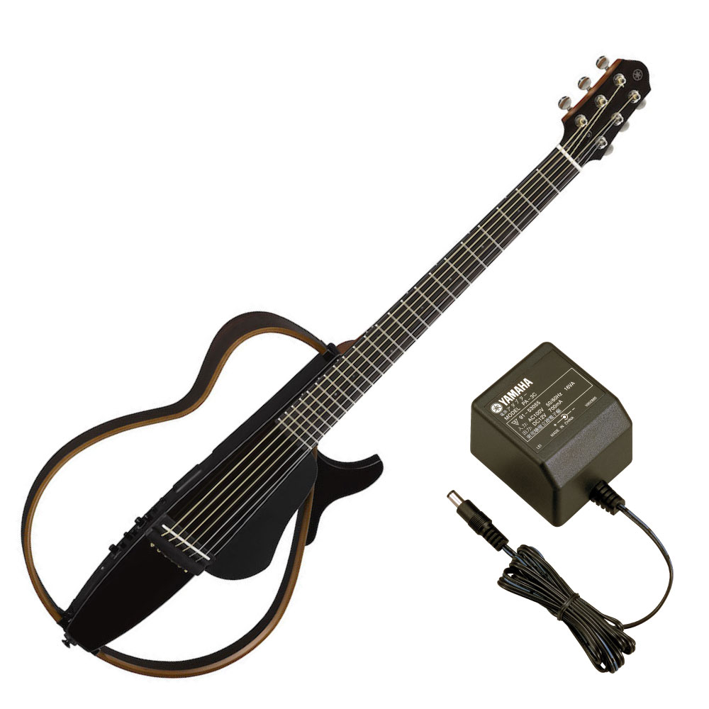 YAMAHA SLG200S TBL サイレントギター PA-3C 電源アダプター付き