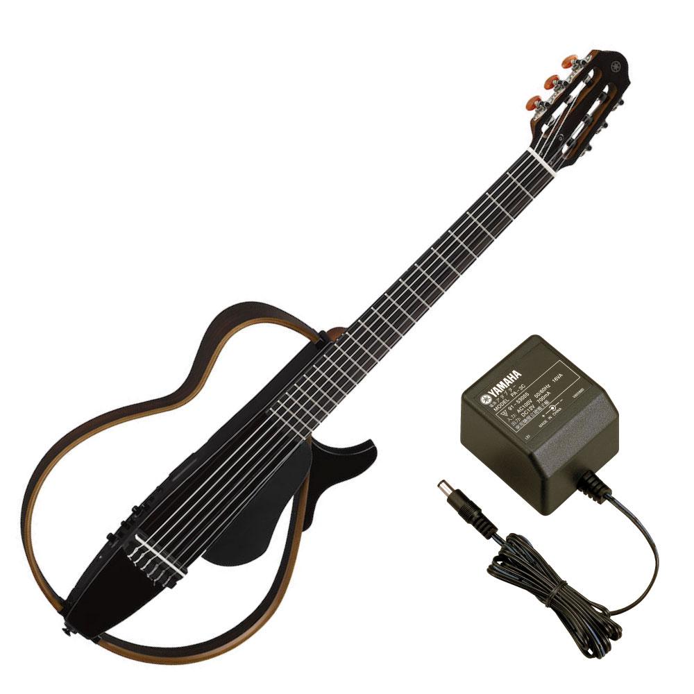 YAMAHA SLG200N TBL サイレントギター PA-3C 電源アダプター付き