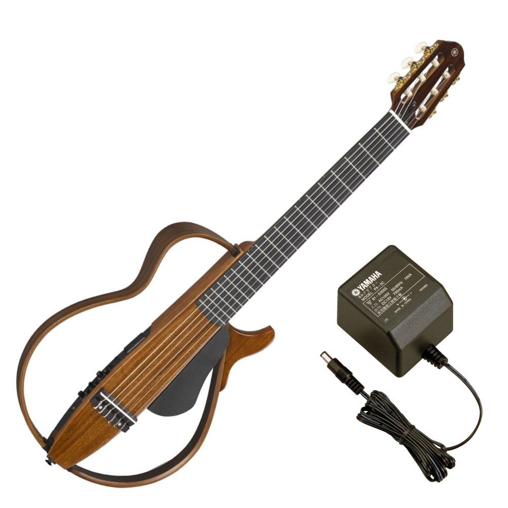 YAMAHA SLG200NW サイレントギター PA-3C 電源アダプター付き