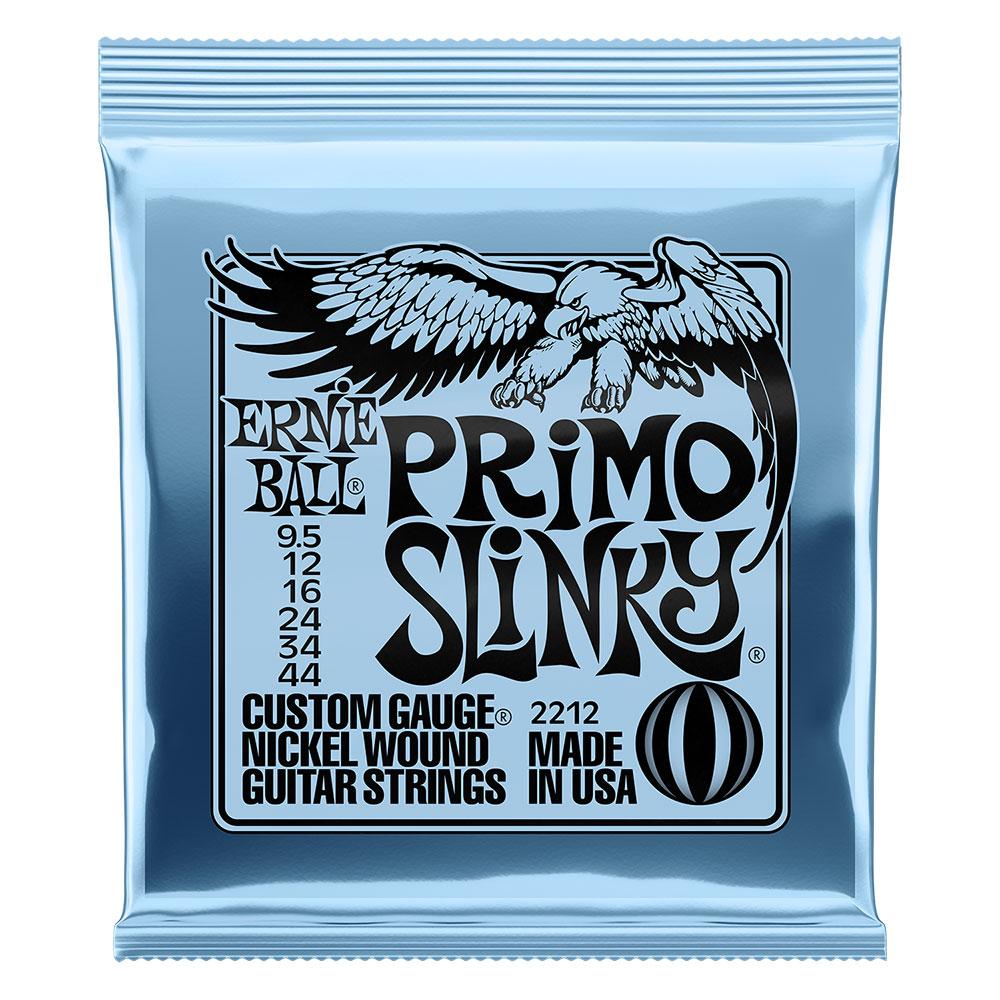 ERNIE BALL 2212 PRIMO SLINKY 095-44 エレキギター弦×12セット