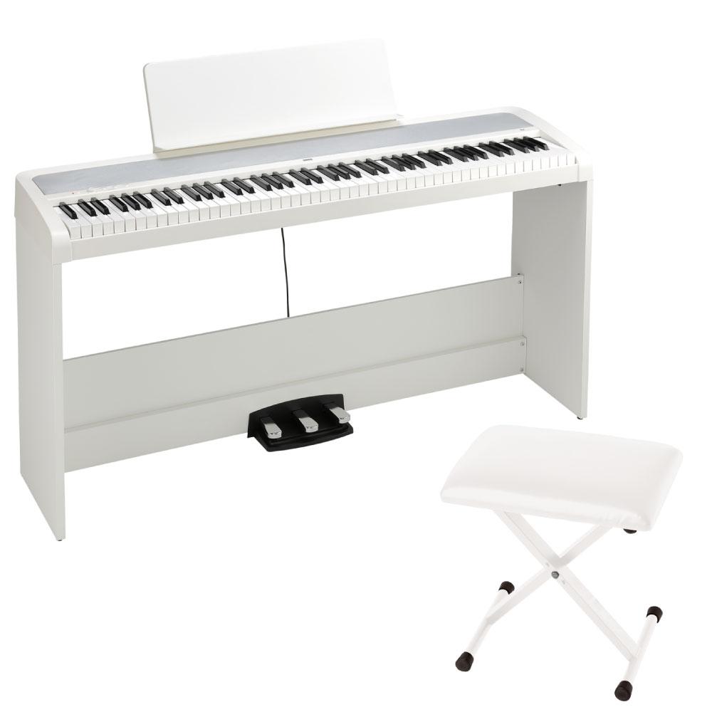 KORG B2SP WH 電子ピアノ X型椅子付き ホワイト