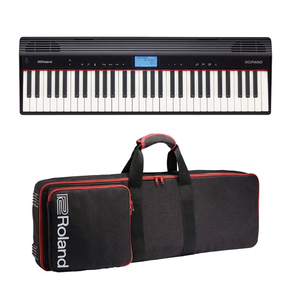 ROLAND GO-61P GO:PIANO エントリーキーボード ピアノ 純正ケース付きセット
