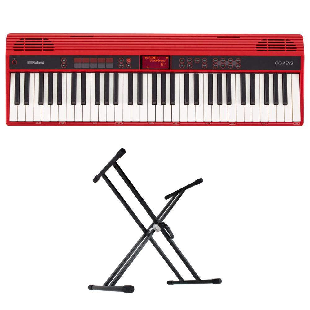 ROLAND GO-61K GO:KEYS Entry Keyboard エントリーキーボード X型スタンド付きセット