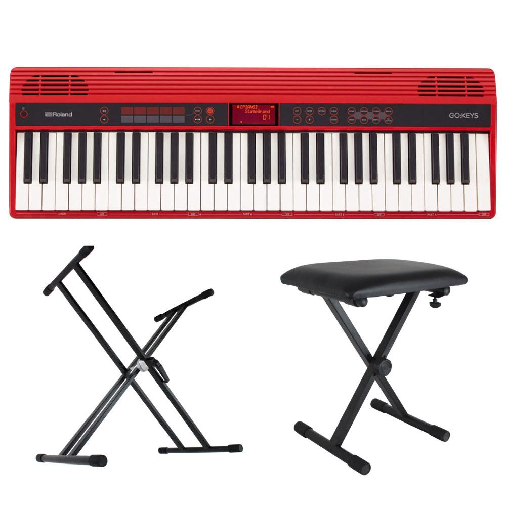 ROLAND GO-61K GO:KEYS Entry Keyboard エントリーキーボード X型スタンド/X型椅子付きセット