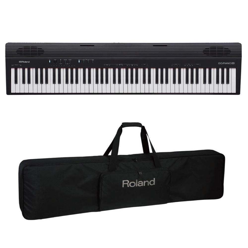 ROLAND GO-88 GO:PIANO88 キャリングケース付きセット Entry Keyboard Piano エントリーキーボード ピアノ 88鍵盤