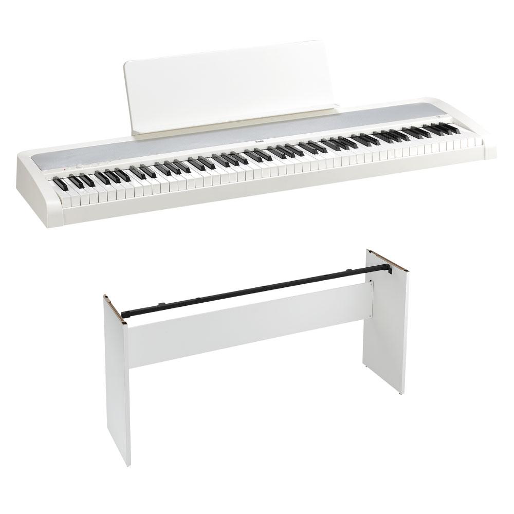 KORG B2 WH 電子ピアノ 純正スタンドセット