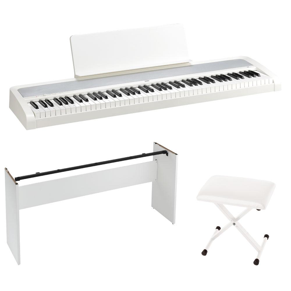 KORG B2 WH 電子ピアノ イス 純正スタンドセット