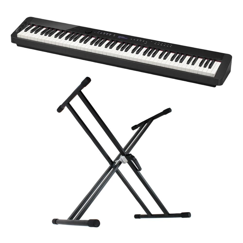 CASIO Privia PX-S3000 BK 電子ピアノ X型スタンド付き セット