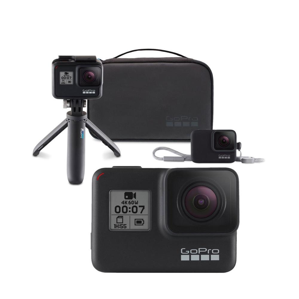 GoPro HERO7 Black ウェアラブルカメラ + トラベルキット付き セット