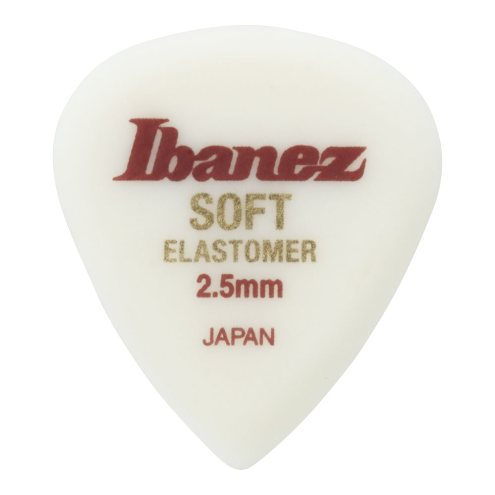 IBANEZ ELJ1ST25 SOFT 2.5mm エラストマー ギターピック×50枚