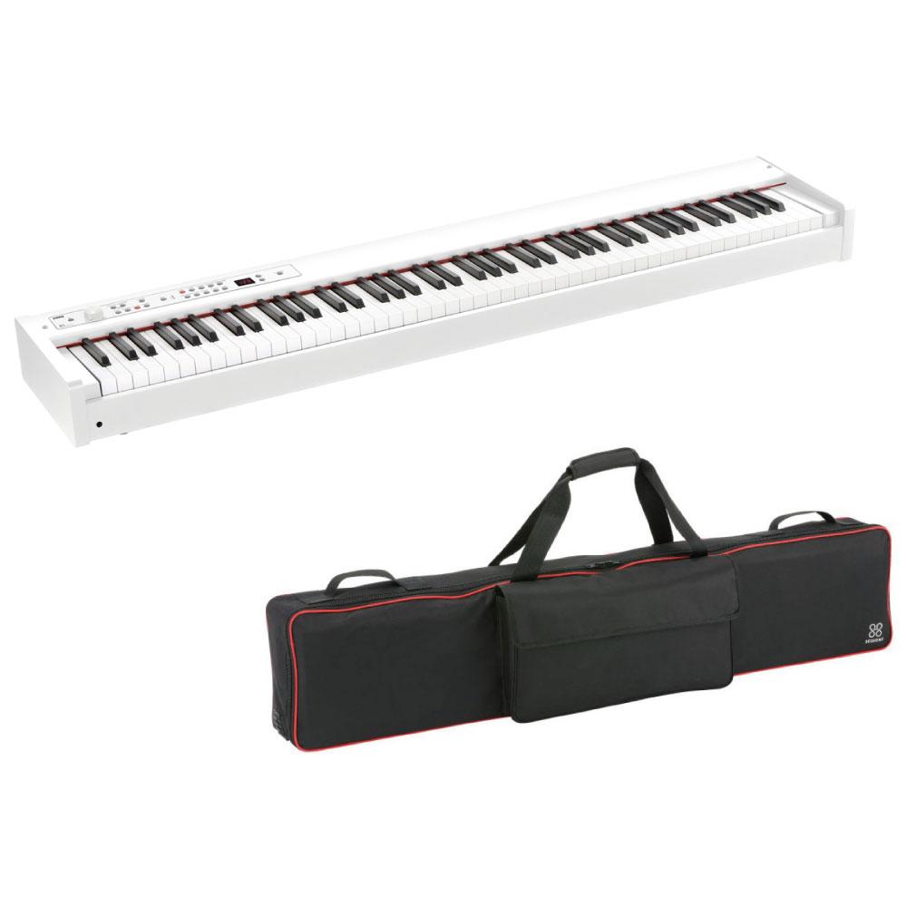 KORG D1 WH DIGITAL PIANO 電子ピアノ ホワイトカラー 専用ソフトケース付きセット