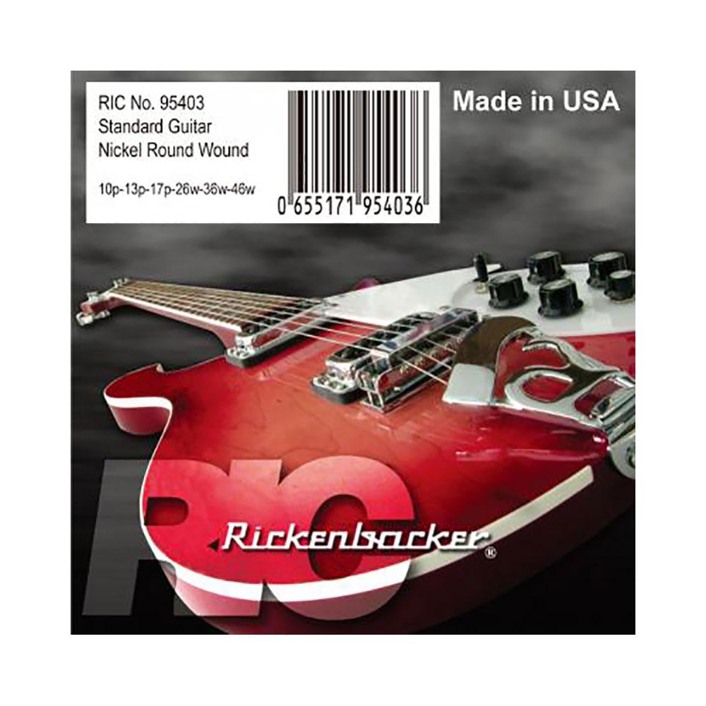 リッケンバッカー ギター弦 ゲージ10-46 Rickenbacker Strings 95403 for Electric Guitar エレキギター弦×6セット