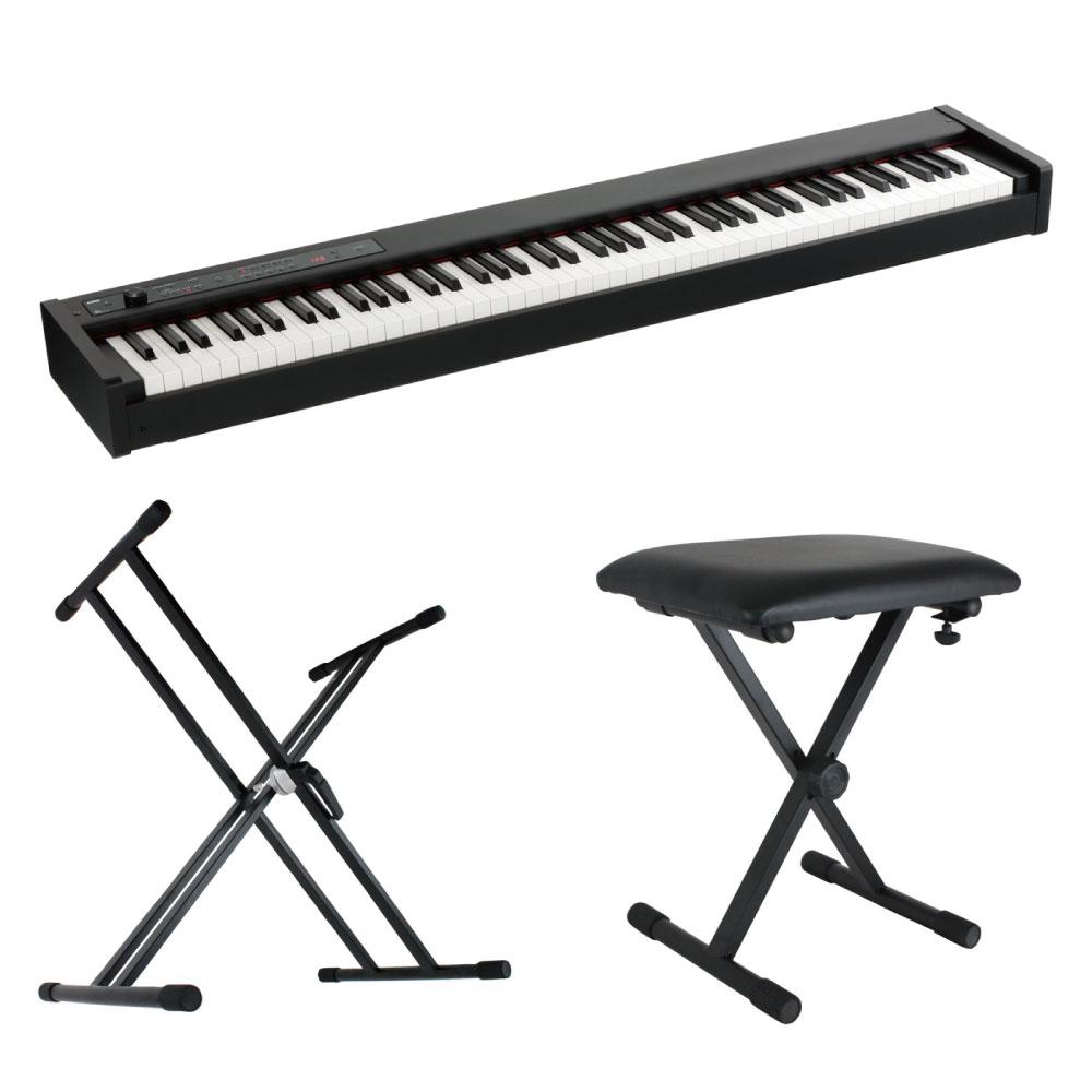 KORG D1 DIGITAL PIANO 電子ピアノ X型スタンド X型ベンチ 3点セット